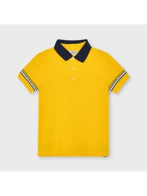 Футболка, POLO, Желтый, Mayoral Испания, 21VL