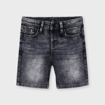 Шорти, джинсові, Темно-сірий, Mayoral Іспанія, 21VL