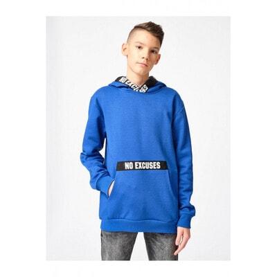Пуловер, з капюшоном, Синій, Reporter young Польща, 21OZ