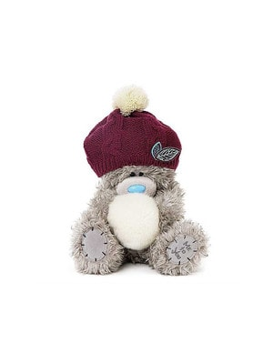 Іграшка М'яка, Ведмедик Тедді в шапці зі сніжком, 23 см, Me To You Великобританія
