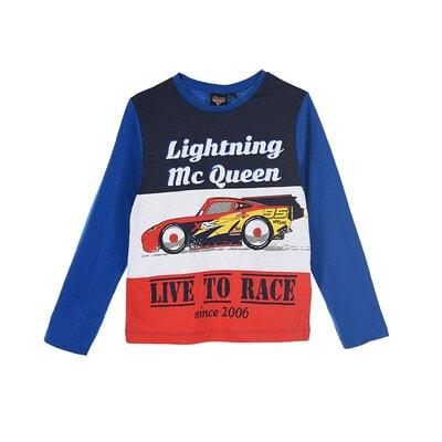 Джемпер, серія Disney  CARS  (червона вставка), Синій, Sun City Франція, 21OZ