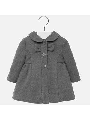 Пальто, серый, Mayoral Испания, 20OZ