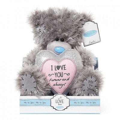 Іграшка М'яка, Ведмедик Тедді з серцем  I Love You, 23 см, Me To You Великобританія