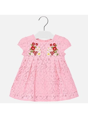 Сукня, мереживна, Рожевий, Mayoral Іспанія, 19VL