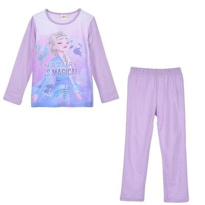 Піжама, серія Disney  FROZEN Джемпер + штани, Бузковий, Sun City Франція, 21OZ