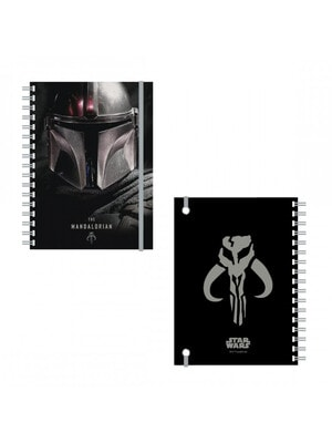 Блокнот Star Wars THE MANDALORIAN  Cerda, Чорний, Disney Іспанія, 21OZ