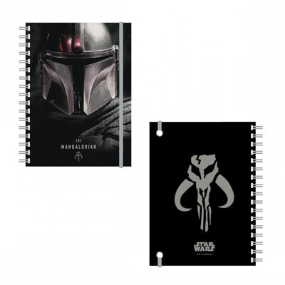 Блокнот Star Wars THE MANDALORIAN  Cerda, Чорний, Disney Іспанія, 21OZ
