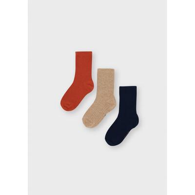 Шкарпетки, 3 пари, Помаранчевий, Mayoral Іспанія, 22OZ