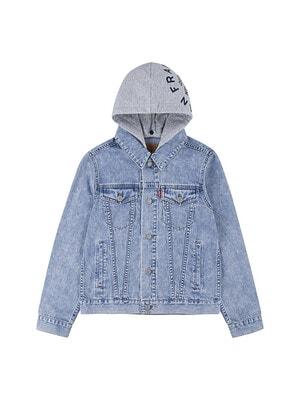 Піджак, з сірим капюшоном, Синій, LEVI`S США, 21VL