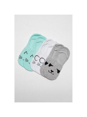 Шкарпетки, 3 пари  Синій, Білий, Сірий, Reporter young Польща, 21VL