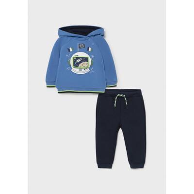 Комплект Спортивний, Пуловер + штани, утеплений, Синій, Mayoral Іспанія, 22OZ