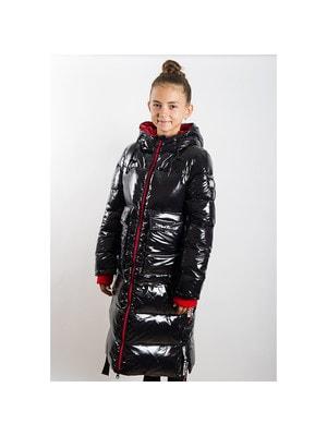 Пальто, з капюшоном, Чорний, ТМ  K`ko, 20OZ