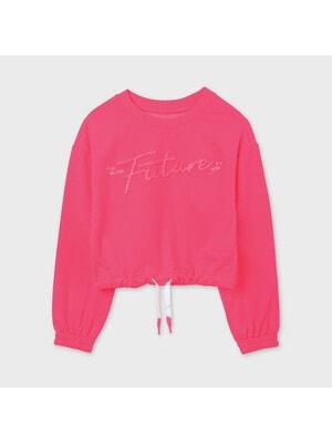 Пуловер, неоновий, Рожевий, Mayoral Іспанія, 21VL