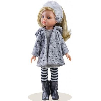 Іграшка Лялька, Клавдія в сірому 32см, Paola Reina Іспанія