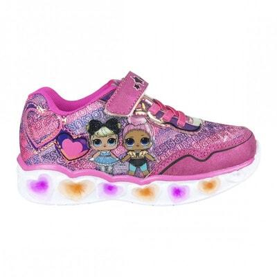 Кросівки, L.O.L., світиться підошва Cerda, Рожевий, Disney Іспанія, 21VL