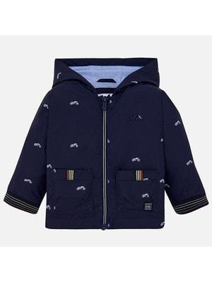 Куртка, з капюшоном, Темно-синій, Mayoral Іспанія, 19VL