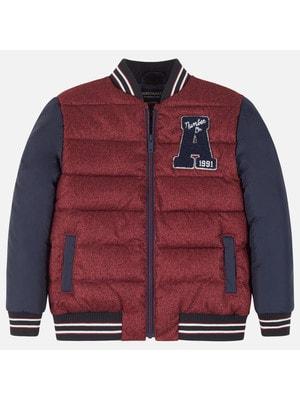 Куртка, перед бордовий, Темно-синій, Mayoral Іспанія, 20OZ