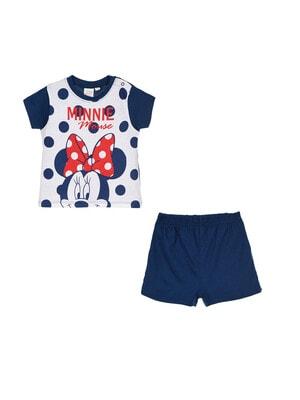 Пижама, Футболка + шорты MINNIE, Синий, Disney Испания, 20VL