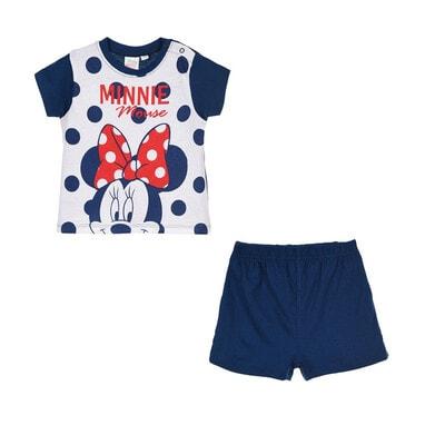 Піжама, Футболка+шорти MINNIE, Синій, Disney Іспанія, 20VL