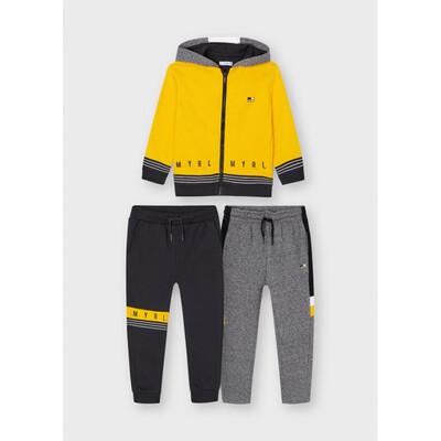 Комплект Спортивний, Кофта + штани 2 шт., утеплений, Жовтий, Mayoral Іспанія, 22OZ