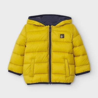 Куртка, з капюшоном + сумочка, Гірчичний, Mayoral Іспанія, 21OZ