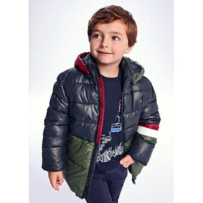 Куртка, з капюшоном, утеплена, Темно-синій, Mayoral Іспанія, 22OZ