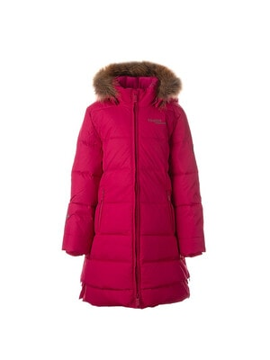 Пальто, з капюшоном (натуральне хутро)  PARISH, Фуксія, HUPPA Естонія, 21OZ