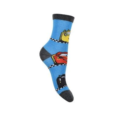 Шкарпетки, 3 пари, CARS 3, Синій, Sun City Франція, 21OZ