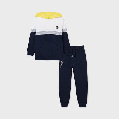 Комплект Спортивний, Пуловер + штани, Темно-синій, Mayoral Іспанія, 21VL
