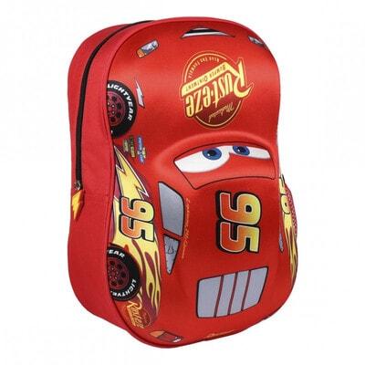 Рюкзак CARS (32х25х10) Cerda, Красный, Disney Испания, 21OZ