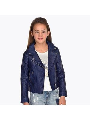 ОДЯГ Дівчинка Верхній Куртка, Темно-синій, Mayoral Іспанія, 19VL