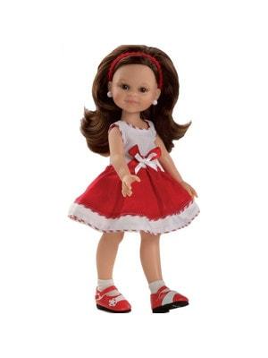 Игрушка Кукла Клео в красном платье 32см, Paola Reina Испания
