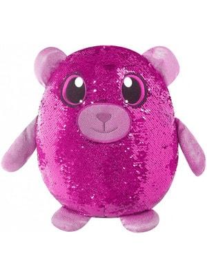 Іграшка М'яка Ведмежа-ЛАСУНКА з пайетками (36см)