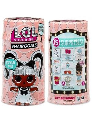 """ІГРАШКА Набір, з лялькою L.O.L. S5 серіі """"Hairgoals""""-Модне перевтілення (в асорт. у дисплеі), MGA США"""