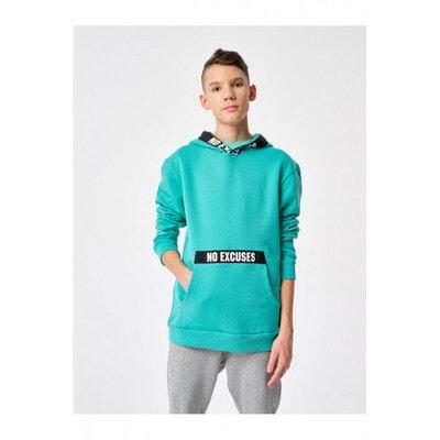 Пуловер, з капюшоном, Зелений, Reporter young Польща, 21OZ