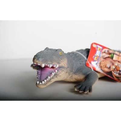 ІГРАШКА, крокодил гумовий (звуков.) 60см Animal, Joy-Toy КНР