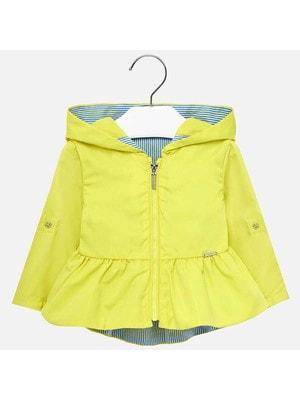 Куртка, з капюшоном, Жовтий, Mayoral Іспанія, 19VL