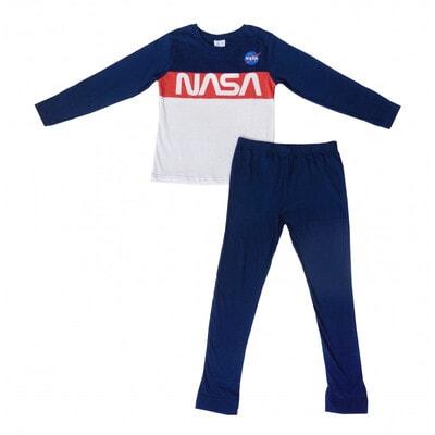 Піжама, серія Disney   NASA Джемпер +  штани, Синій, Sun City Франція, 21OZ