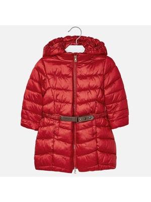 Куртка, з капюшоном, Червоний, Mayoral Іспанія, 20OZ