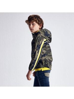Куртка, з капюшоном, мілітарі, Зелений, Mayoral Іспанія, 21VL