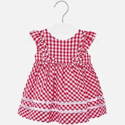 Сукня, в білу клітину, Червоний, Mayoral Іспанія, 20VL