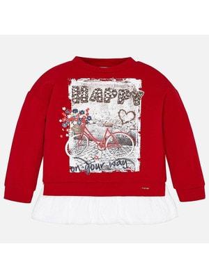 Пуловер, (велосипед), Червоний, Mayoral Іспанія, 20OZ