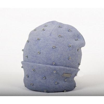 Головний убір Шапка, (сріблясті намистини), Блакитний, Trestelle Італія, 20OZ