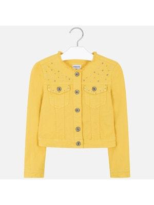 Піджак, джинсовий, Жовтий, Mayoral Іспанія, 20VL