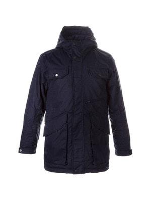 Куртка, з капюшоном VINCET, Темно-синій, HUPPA Естонія, 21OZ