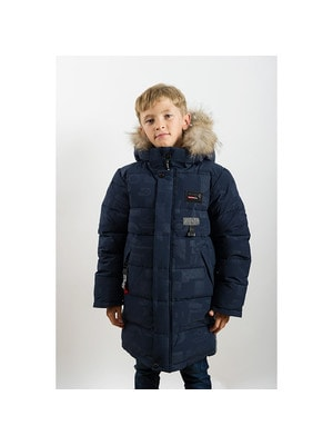 Куртка, з капюшоном, Темно-синій, ТМ  K`ko, 20OZ