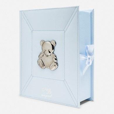 Аксесуари, Коробка для сувенірів новонародженого (перший зуб, перше волосся, перші носочки) та інші памятні речі., Блакитний, Mayoral Іспанія, 19OZ