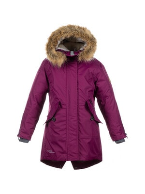 Пальто, з капюшоном  VIVIAN, Фіолетовий, HUPPA Естонія, 21OZ