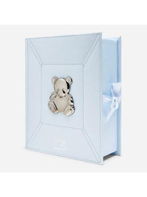 Аксесуари, Коробка для сувенірів новонародженого (перший зуб, перше волосся, перші носочки) та інші памятні речі., Блакитний, Mayoral Іспанія, 21VL