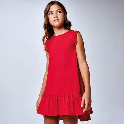 Платье, Красный, Mayoral Испания, 21VL